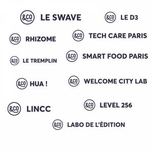 logotypes plateformes d'incubation