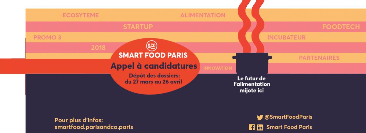 Appel à candidatures Smart Food Paris