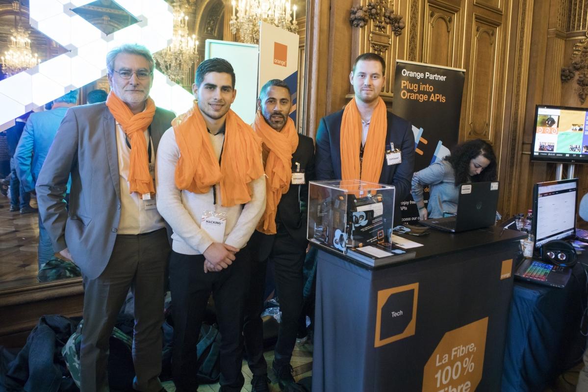 Orange au Hacking