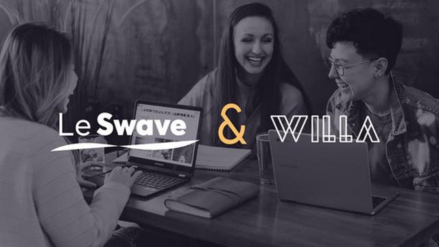 Le Swave et Willa fintech