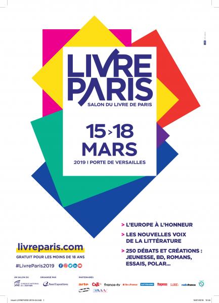 affiche livre paris
